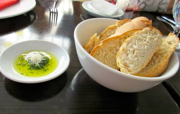 bread with dip